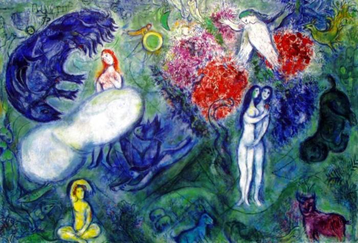 Chagall_Adan y Eva