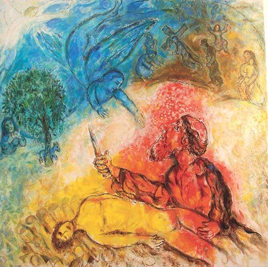 Chagall_Sacrifcio de Isaac