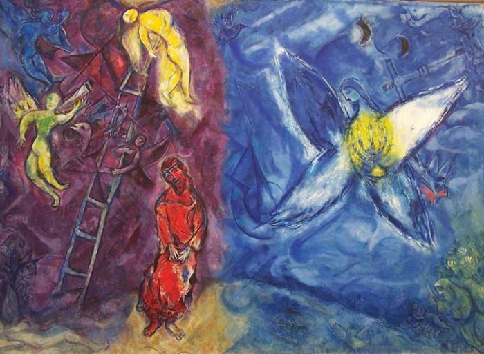 Chagall_Sueño de Jacob