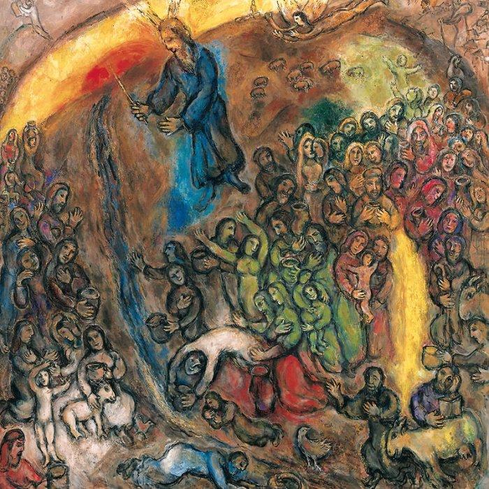El mana de la roca_Chagall