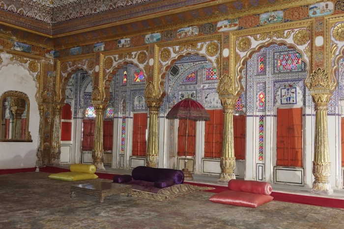 Sala de audiencias, Mehrangarh