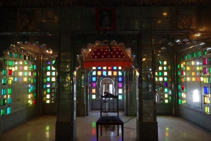 Interiores palacio de Udaipur