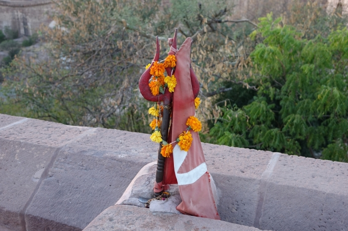 Jodhpur - fuerte Mehrangarh (63)