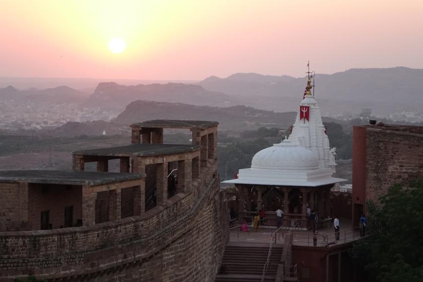 Jodhpur - fuerte Mehrangarh (68)