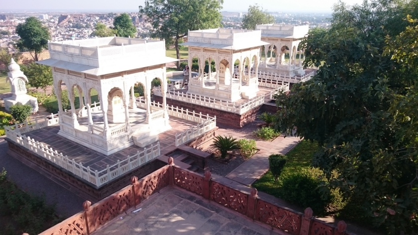 Jodhpur - Mausoleo Jaswant Thada (13)