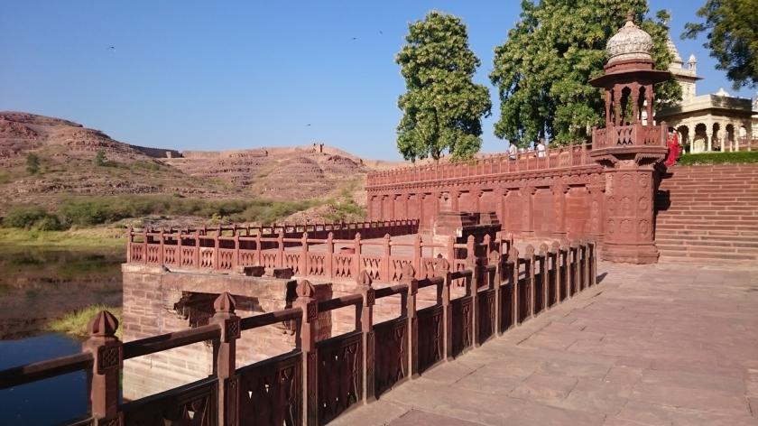 Jodhpur - Mausoleo Jaswant Thada (21)