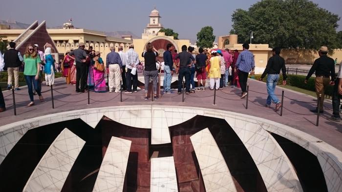 EL observatorio de Jantar Mantar, un sitio muy singular