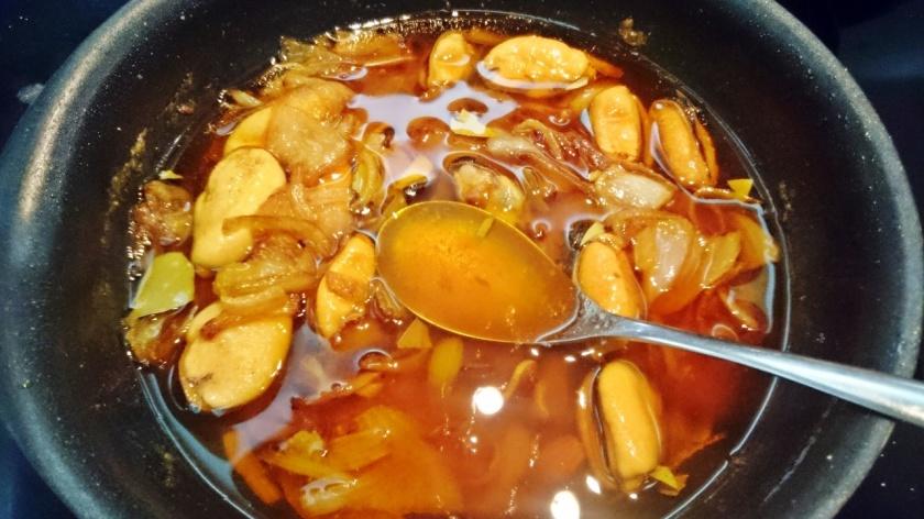 mejillones salsa pimenton