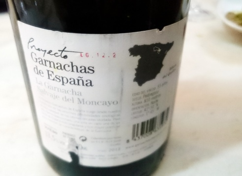 vino garnacha moncayo