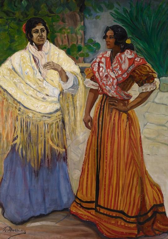 2 gitanas - Museo Carmen Thyssen