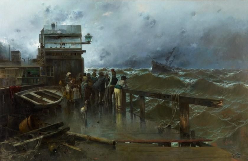 Amenaza de naufragio - Museo Carmen Thyssen