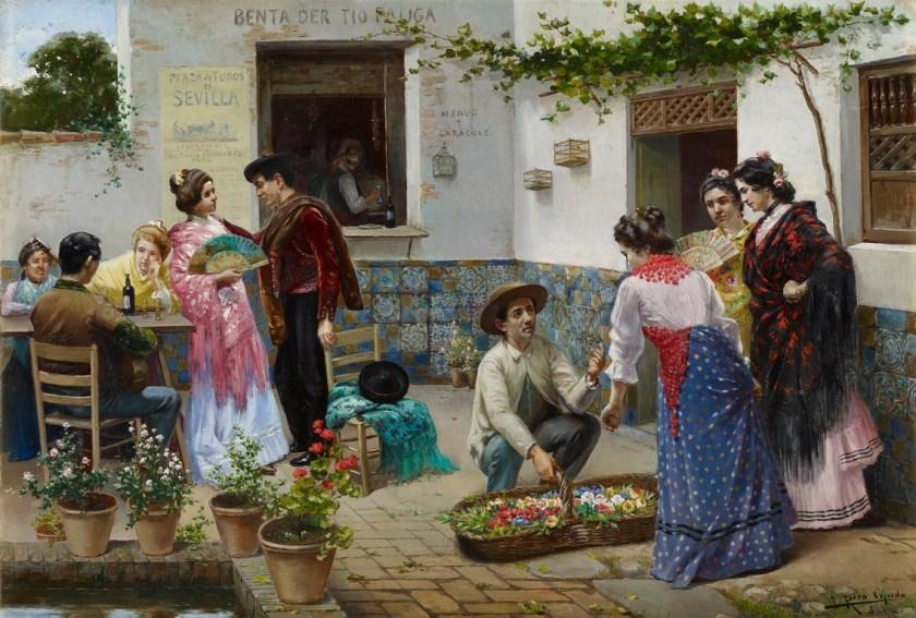 Andaluces en la venta - Museo Carmen Thyssen