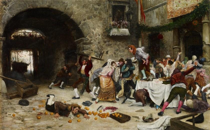 Banquete interrumpido - Museo Carmen Thyssen