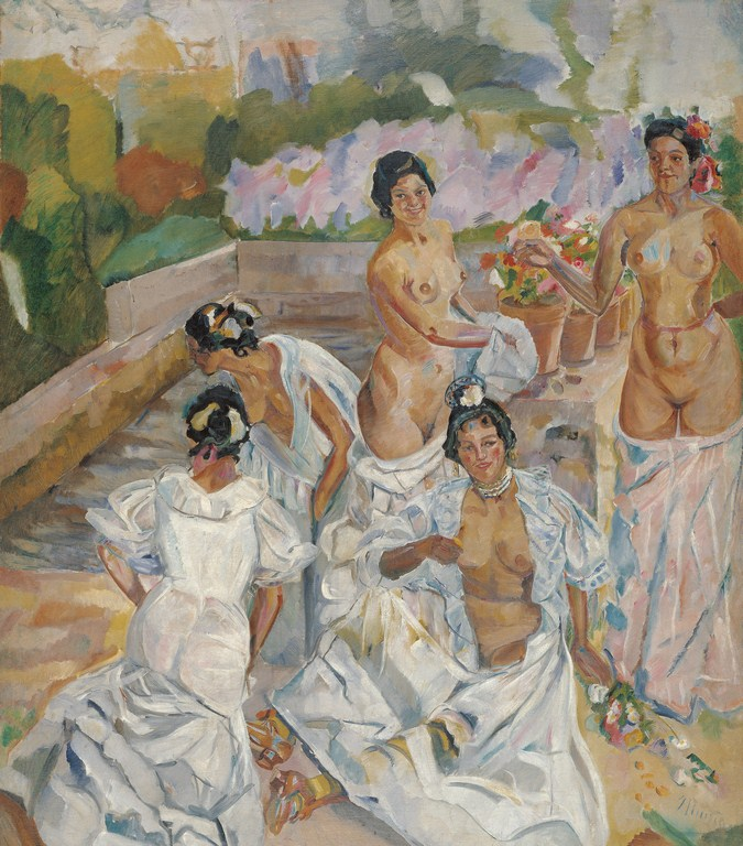 El baño (Sevilla) - Museo Carmen Thyssen