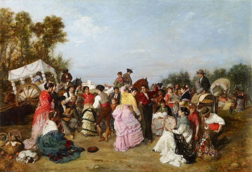 En la Romería de Torrijos - Museo Carmen Thyssen