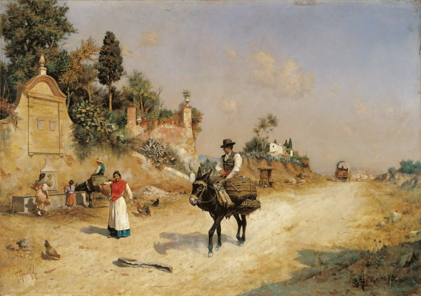 La fuente de Reding - Museo Carmen Thyssen