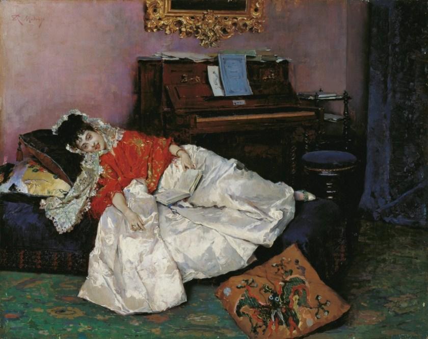 La lectura - Museo Carmen Thyssen