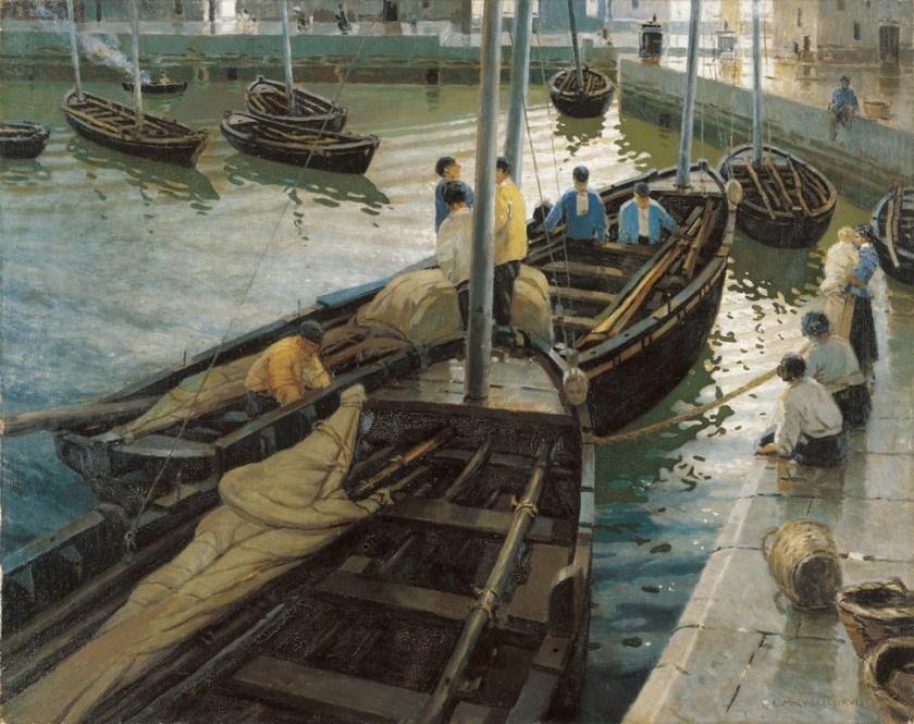 La vuelta de la pesca - Museo Carmen Thyssen