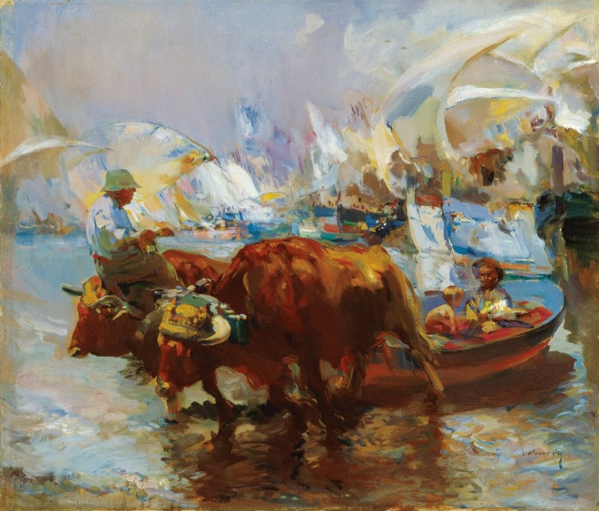 Llegada de la pesca - Museo Carmen Thyssen
