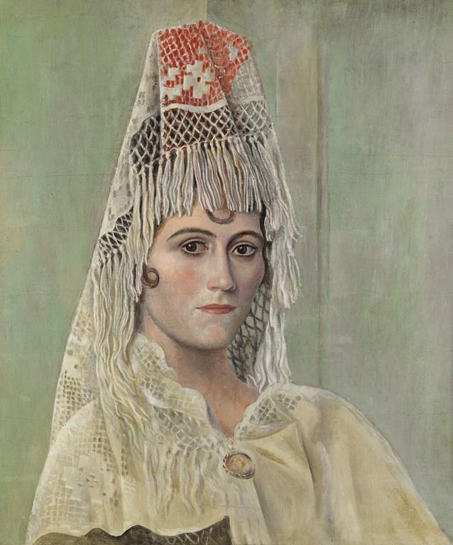 Olga Khokhlova con mantilla - Picasso Malaga