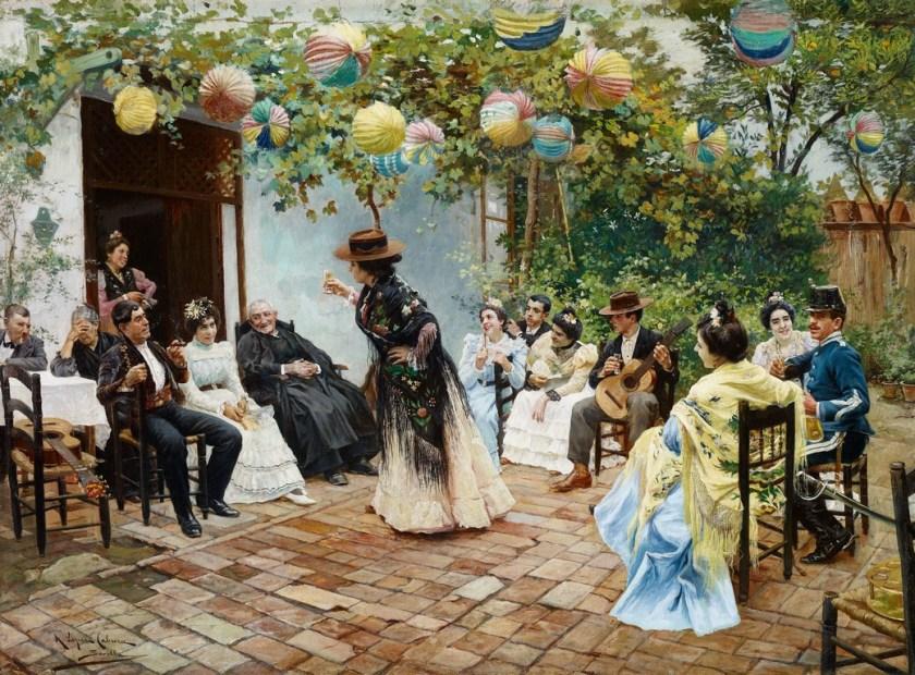 Recien casados - Museo Carmen Thyssen