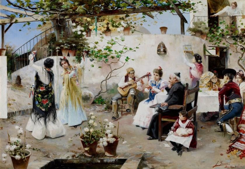 Un baile para el señor cura - Museo Carmen Thyssen