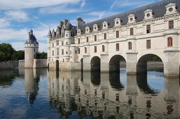 Castillo de Chenonceau, fuente: http://www.france-history.com/