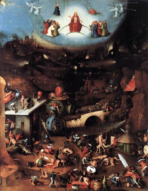 Tripico del Juicio Final El Bosco