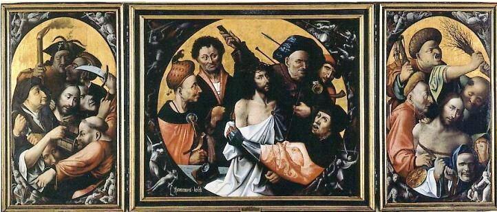 Triptico Pasion Cristo El Bosco