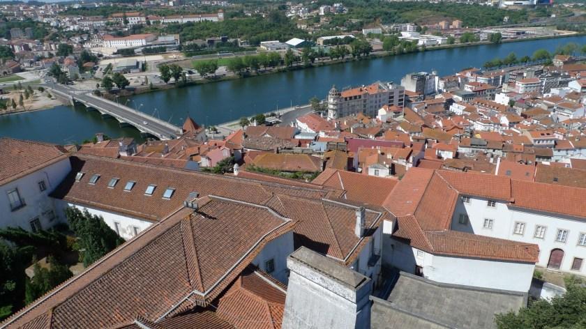 Vistas de la ciudad de Coimbra desde la Universidad