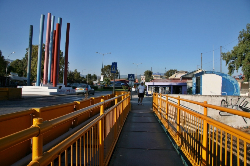 canal corinto peloponeso