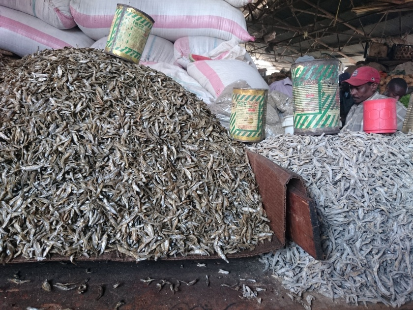 Pescado seco mercado Arusha