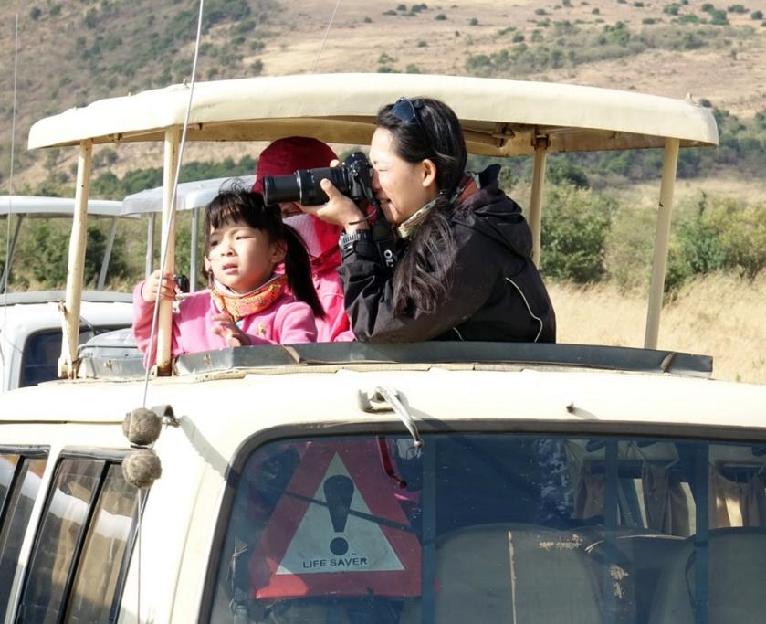 masai mara turistas