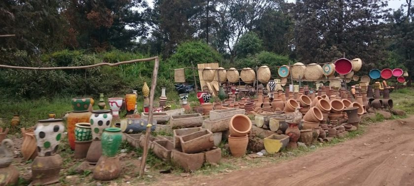 mercado afueras nairobi