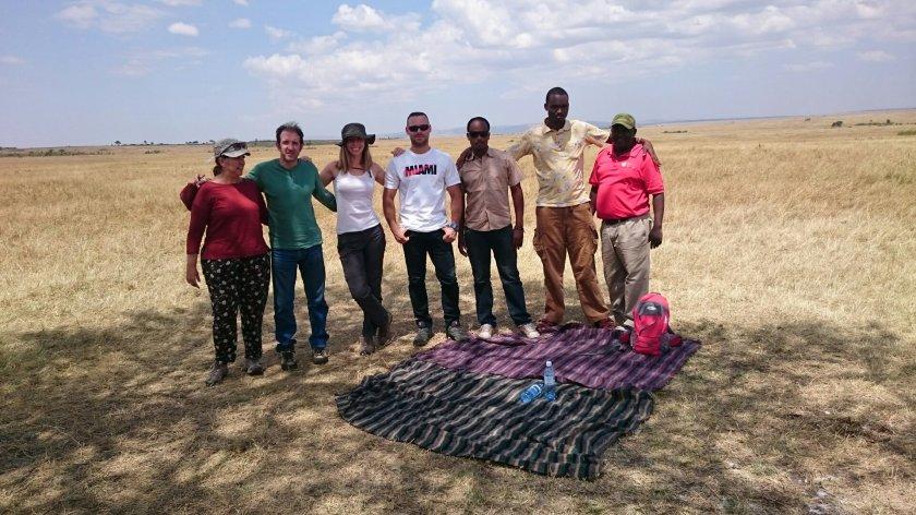 picnic en masai mara