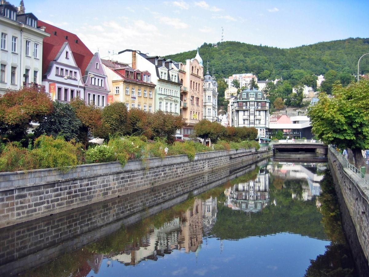 Visitamos la ciudad-balneario de Karlovy Vary en Rep. Checa