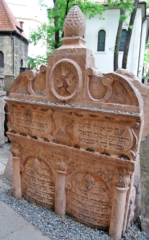 tumba rabino loew cementerio praga