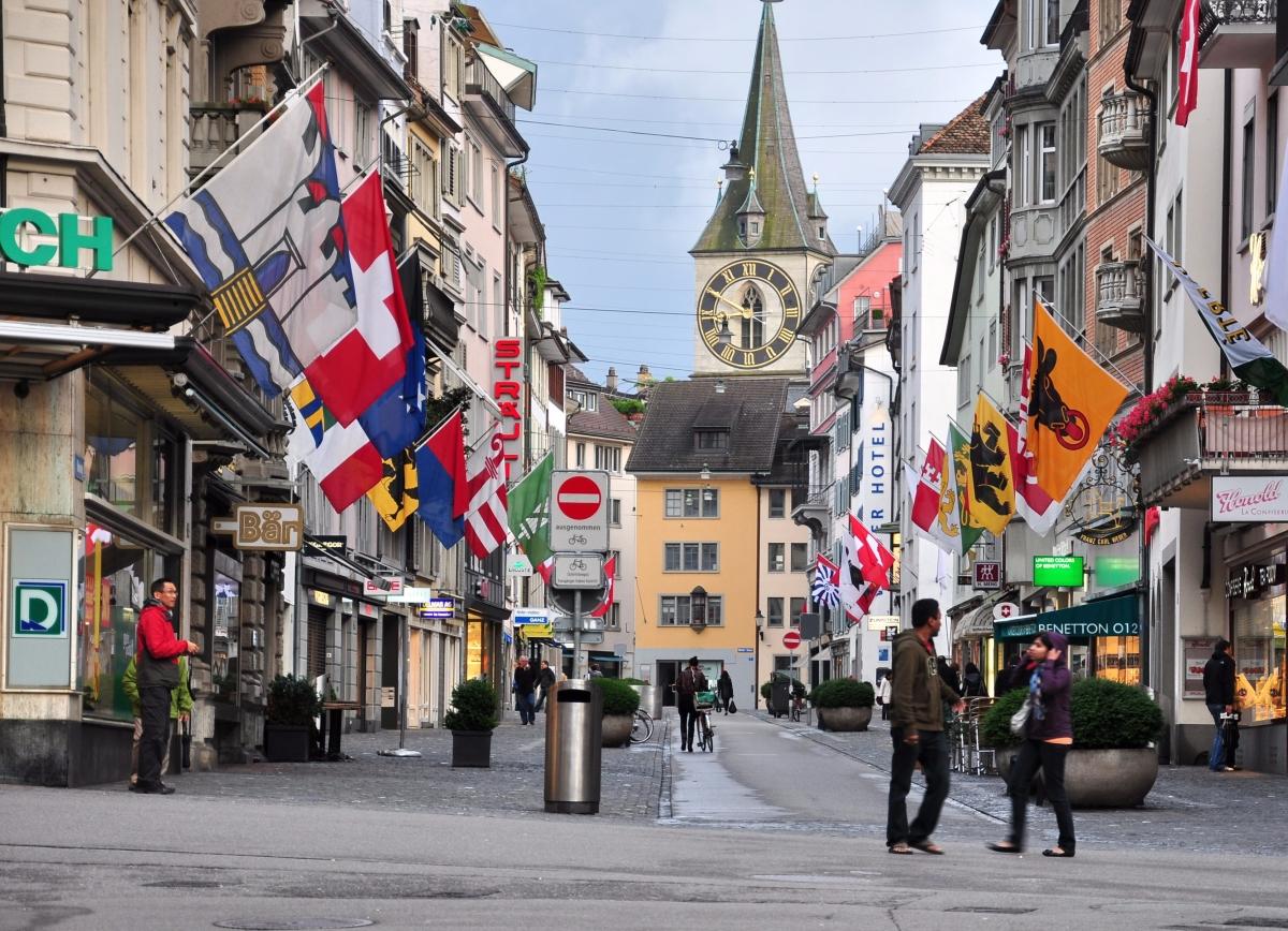 """Zürich, la ciudad """"más alemana"""" de Suiza"""