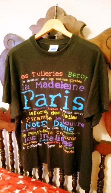 camisetas viajeras paris