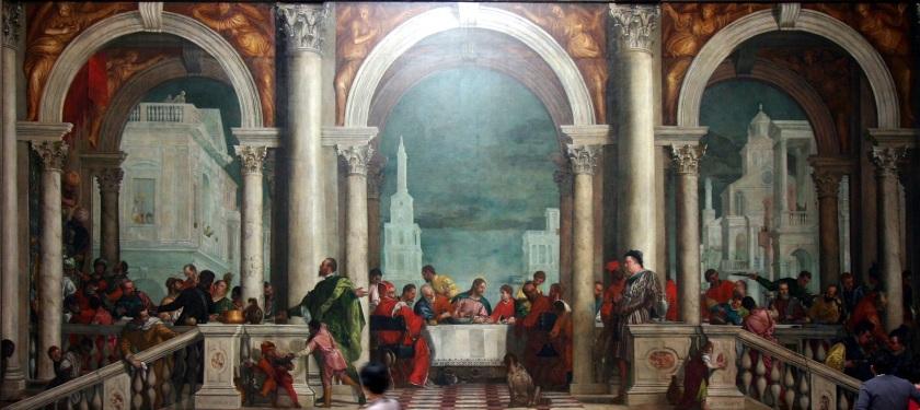 Banquete en la casa de Levi_Paolo_Veronese