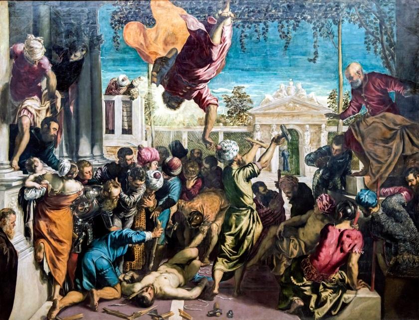 Milagro del esclavo_Tintoretto