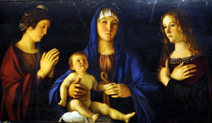 museo academia_bellini_maddona con bambino...