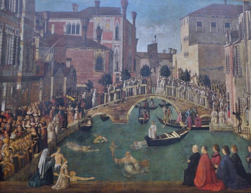 museo academia_carpaccio_milagro de la santa cruz en puente rialto