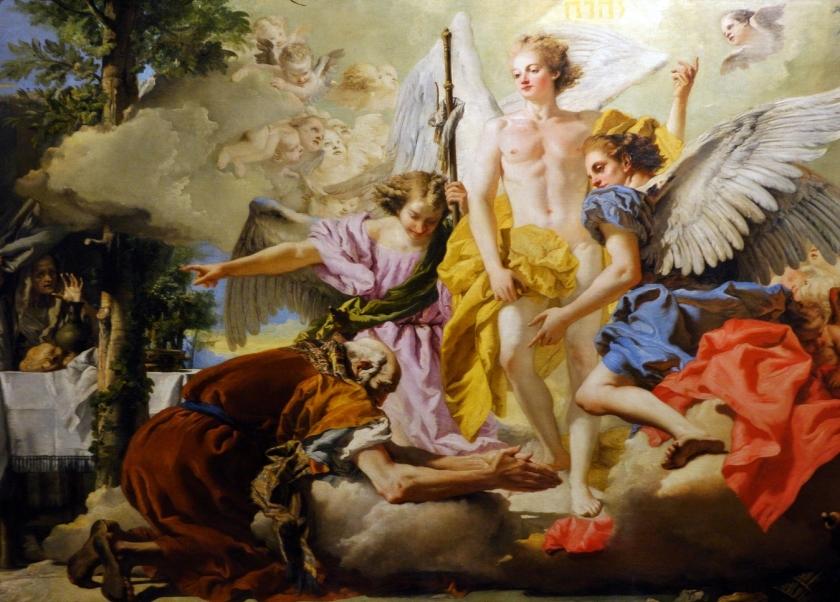 museo academia_tiepolo_aparición 3 angeles a abraham