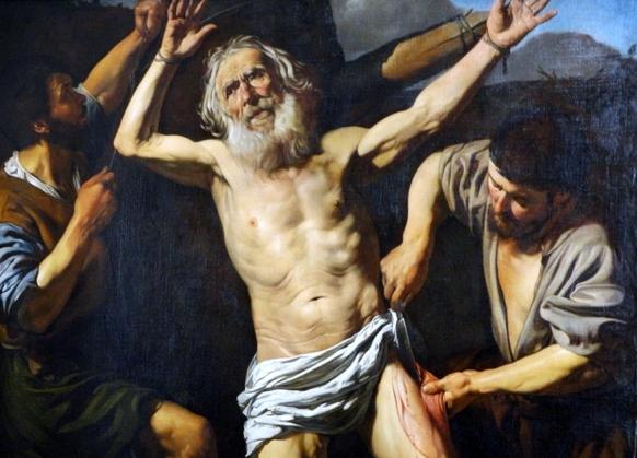Martirio de San Bartolomeo, Valentin de Boulogne