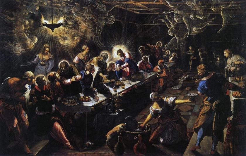 Tintoretto_La ultima cena