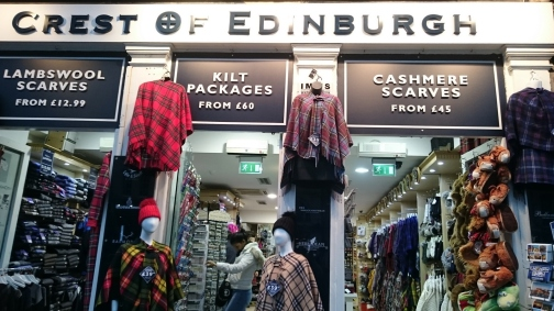 Tienda de productos escoceses