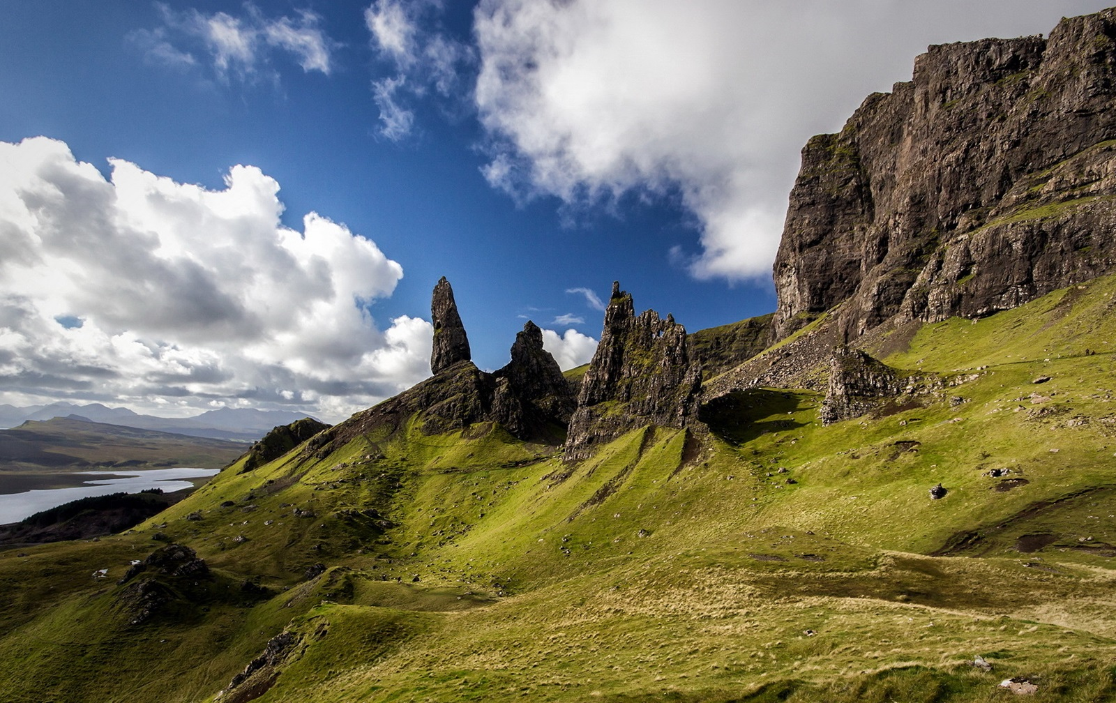 old man of storr isla skye escocia