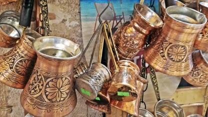 Cacharros para hacer café turco