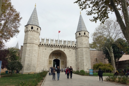 Entrada Palacio Topkapi